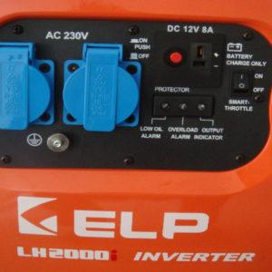 Генератор ELP LH2000i (оранжевый)
