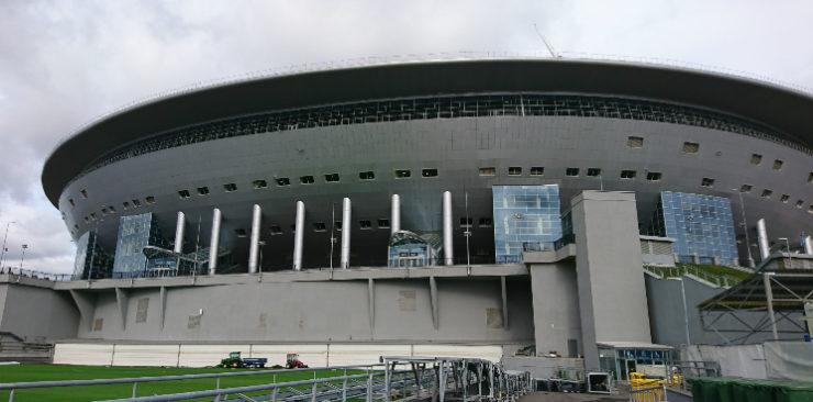Postavka Svetilnikov Dlya Zenit Arena